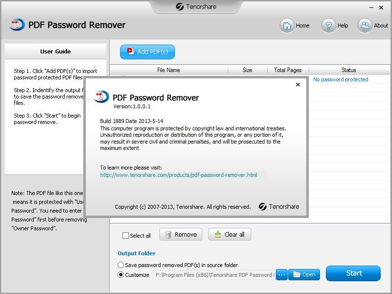 PDF Password Recovery - Crack and recover password