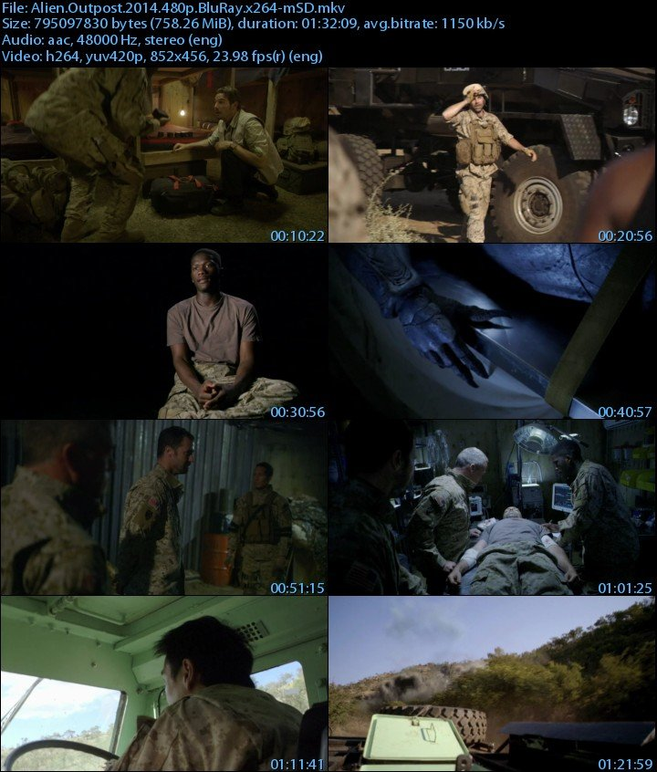 Alien Outpost 2015 Full HD Movie 720p Download