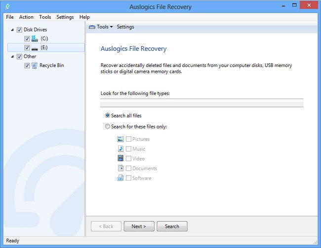Auslogics File Recovery 7.1.4 Multilingual + Portable