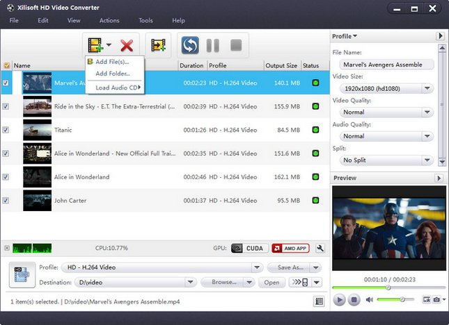 Xilisoft HD Video Converter 7.8.21 Build 20170920 Multilingual Portable