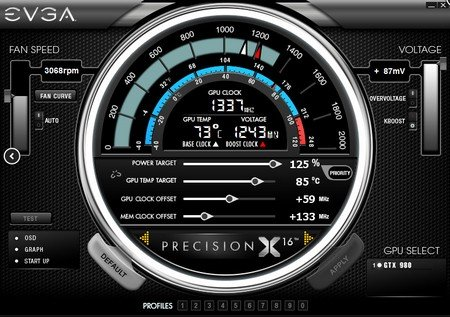 how to set evga precision xoc start up with window
