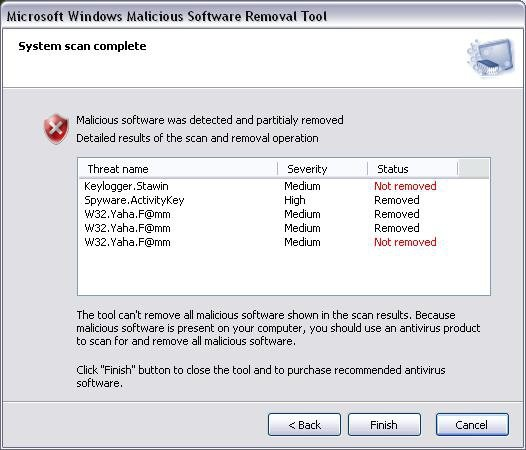 Microsoft Malicious Software Removal Tool 5.50 (x86x64)