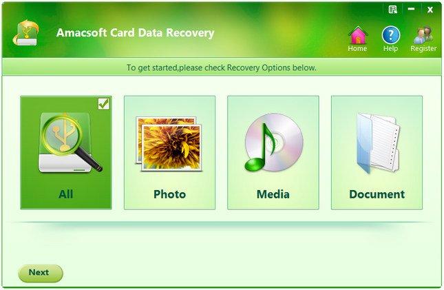 Amacsoft Card Data Recovery 1.0.11 Multilingual