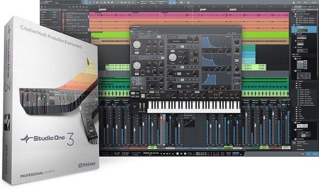 PreSonus Studio One 3 Professional 3.5.0