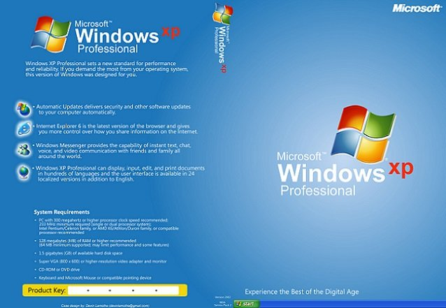 windows xp professional sp3 x86 black edition product key