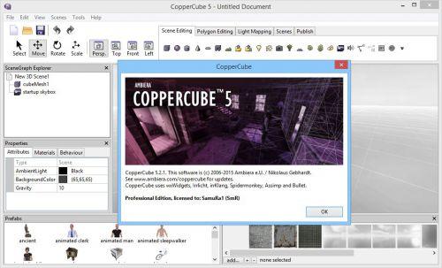 coppercube 5 professional edition