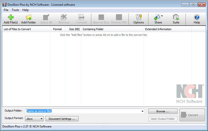 Download NCH Doxillion Document Converter Plus 2.43 Portable - SoftArchive