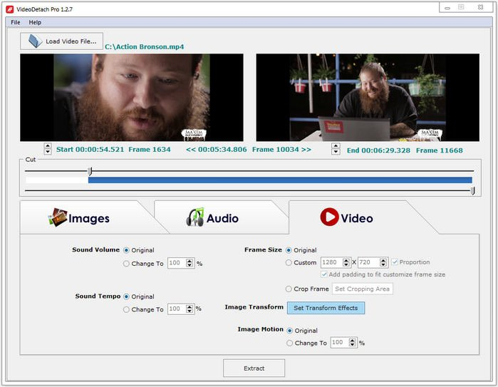 VideoDetach Pro 1.2.9