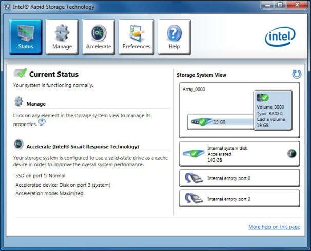 Intel Rapid Storage Technology (RST) 16.5.2.1028 WHQL