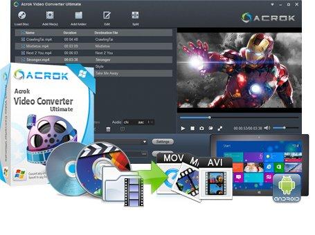 Acrok Video Converter Ultimate 6.0.96.1123