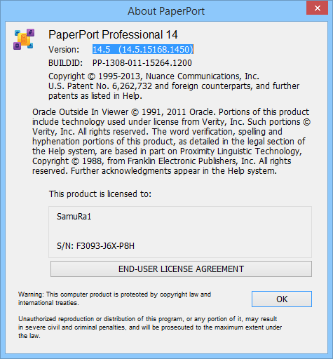 nuance paperport professional 14.5