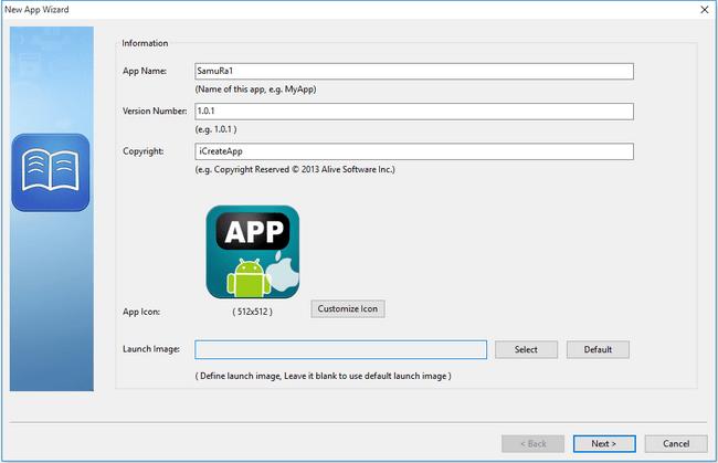 Alive Software iCreateApp Professional 2.0.4626