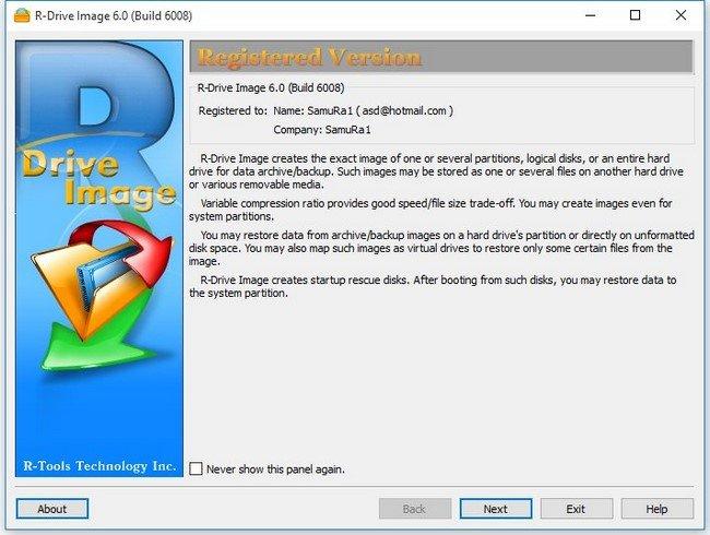 R-Drive Image Technician v6.1 Build 6103 BootCD