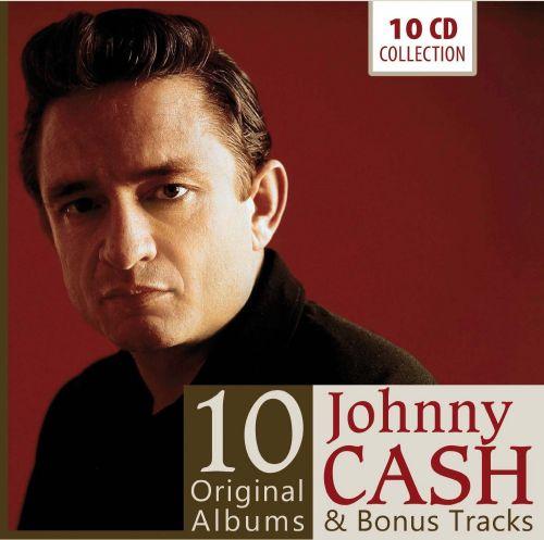 Johnny Cash - Johnny Cash: 10 Original Albums & Bonus Tracks (2014) 320/FLAC