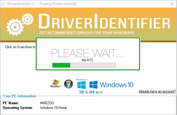 download driver identifier full version