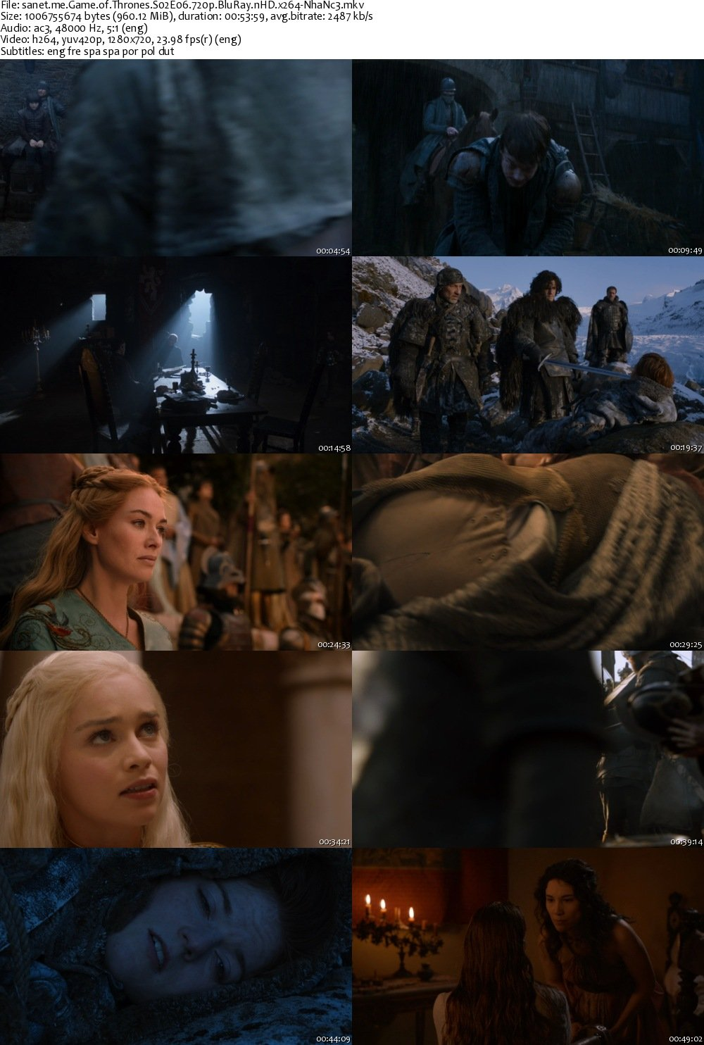 Game of Thrones s02e1 720p