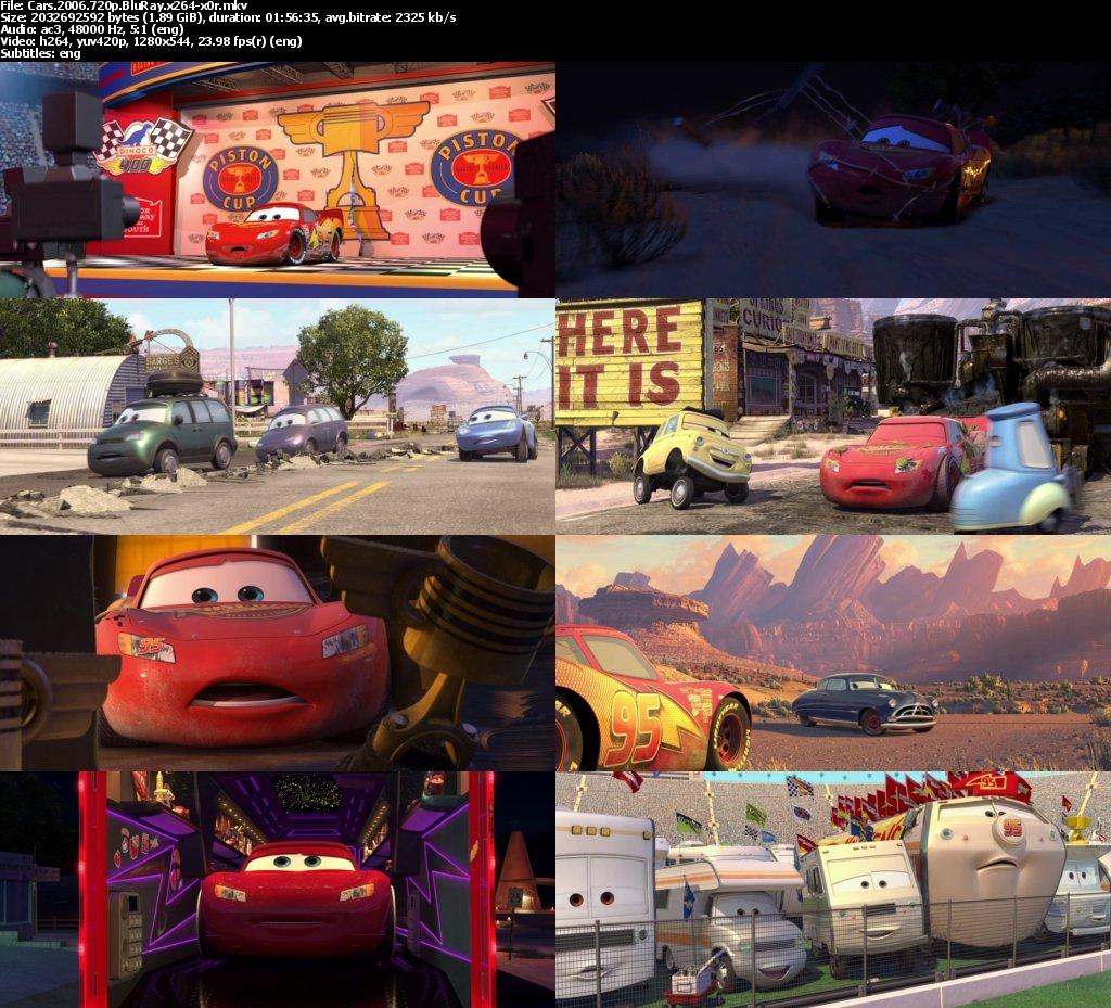 Cars 720p 2006