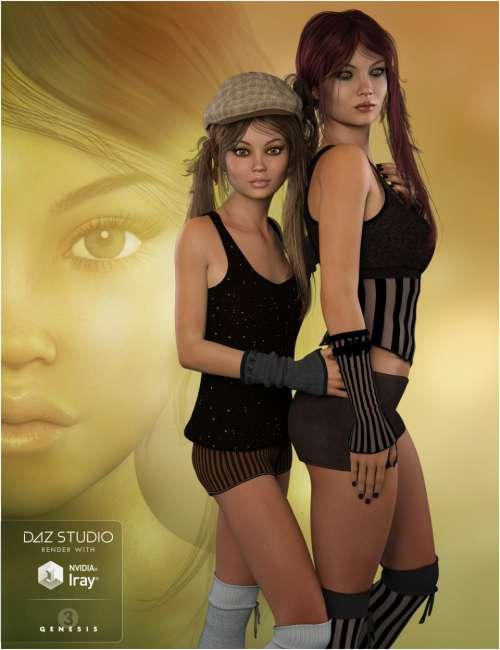Download POSER - FWSA Octavia HD for Teen Josie 7 and Genesis 3