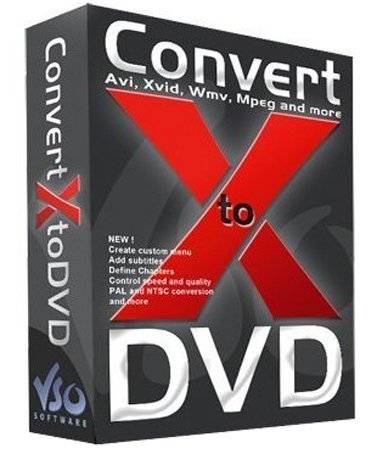 VSO ConvertXtoDVD 7 0 0 31 + Patch  Multilingue