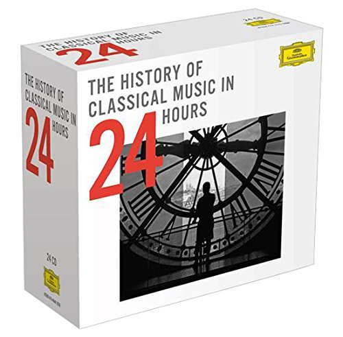 VA - The History Of Classical Music In 24 Hours: Box Set 24CDs (2015) MP3