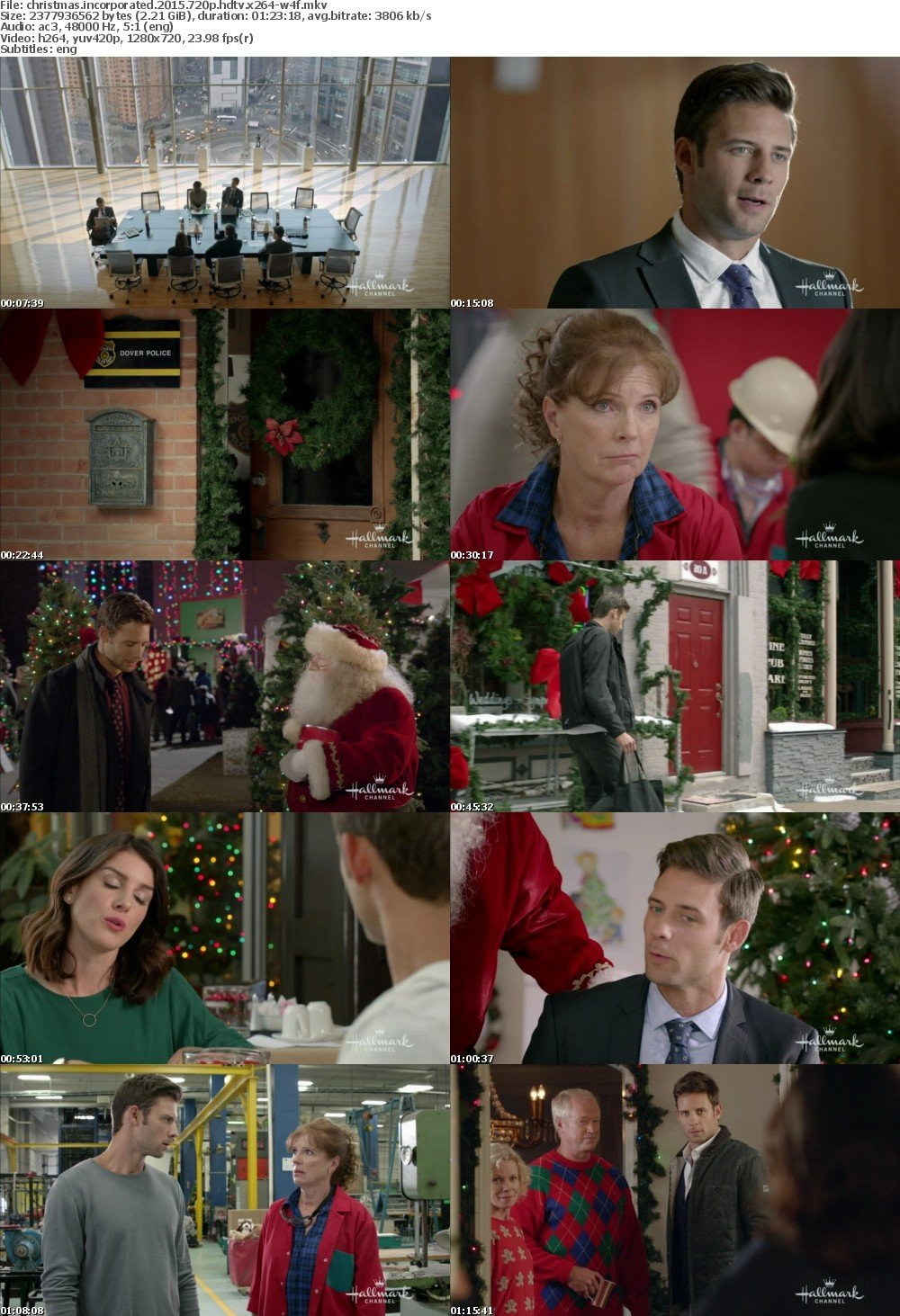 Christmas Incorporated.Download Christmas Incorporated 2015 720p Hdtv X264 W4f