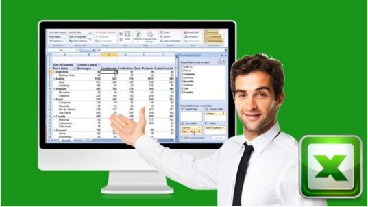 Download Amazing Reports and Data Analysis with Excel Pivot