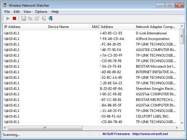 Wireless Network Watcher 2.13 + Portable