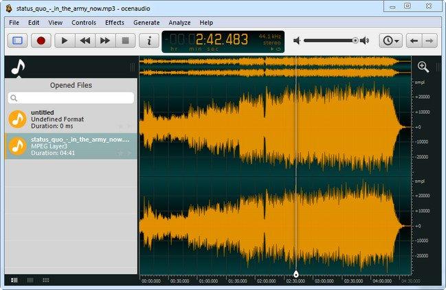 OcenAudio 3.4.4