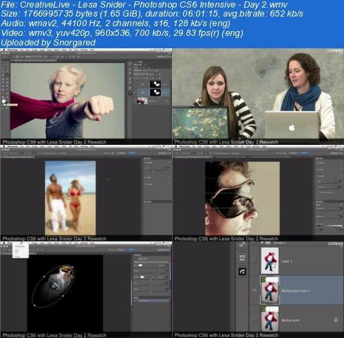 CreativeLive Photoshop CS6 Intensive Day