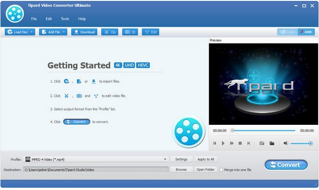 Tipard Video Converter Ultimate 9.2.8.Multilingual + Portable