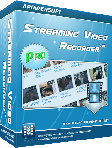 Apowersoft Streaming Video Recorder 5.1.6 (Build 02/18/2016) Multilingual