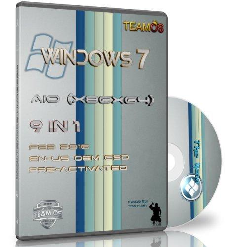 Download Windows 7 Sp1 (x86/x64) AIO 9in1 En-Us OEM ESD Pre