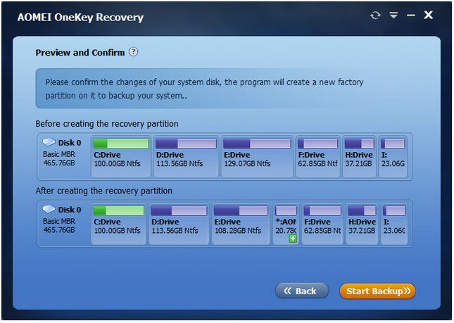 Download AOMEI OneKey Recovery Free 1 6 0 0 - SoftArchive