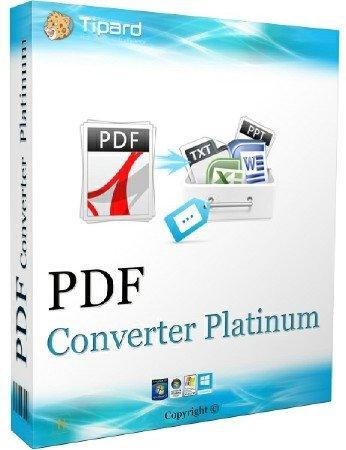 Tipard PDF Converter Platinum 3.3.30 Multilingual