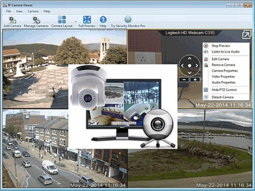 IP Camera Viewer 4.0.3 Portable
