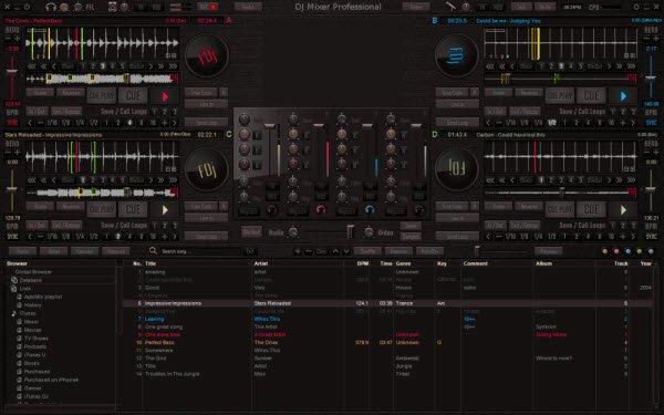 XYLIO DJ Mixer Professional 3.6.9