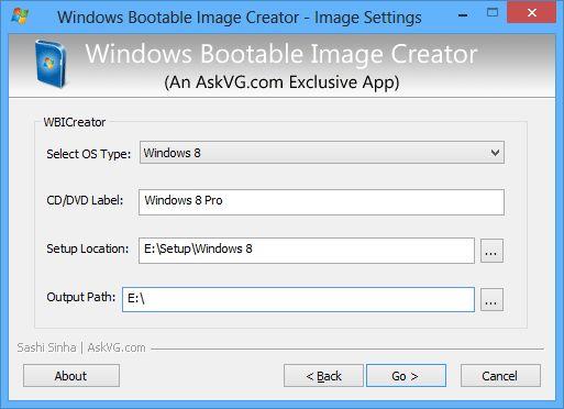 Download Windows Bootable ISO Creator 4 4 1 0 Final portable