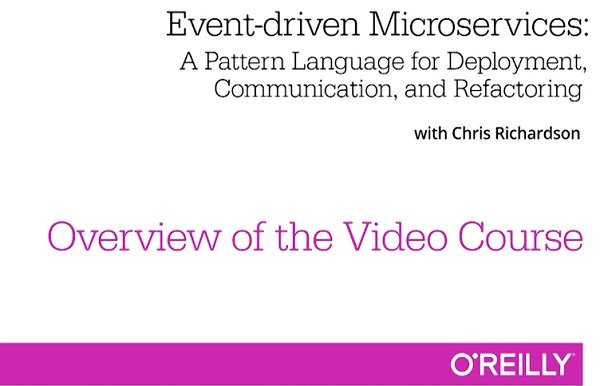 Download Event-Driven Microservices Training Video - SoftArchive