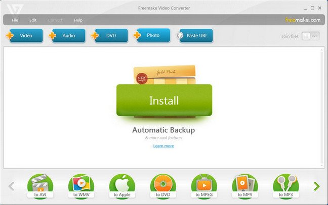 Freemake Video Converter Gold 4.1.10.12 Final + Sérial SuperSpeed .socrate