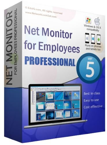 EduIQ Net Monitor for Employees Professional.v5.4.4