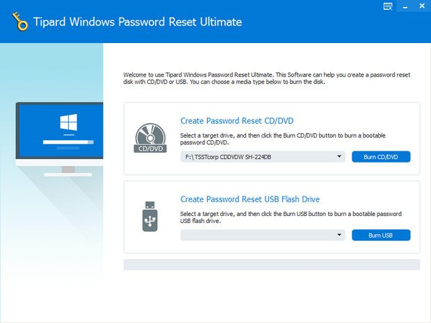 Tipard Windows Password Reset Ultimate 1.0.10 + (Portable) coobra.net
