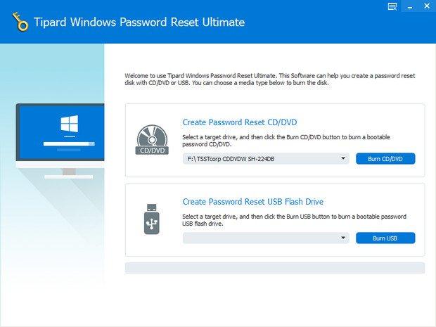 Tipard Windows Password Reset Ultimate 1.0.10 + (Portable) coobra.net