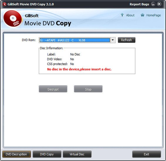 Gilisoft Movie DVD Copy 3.2.0