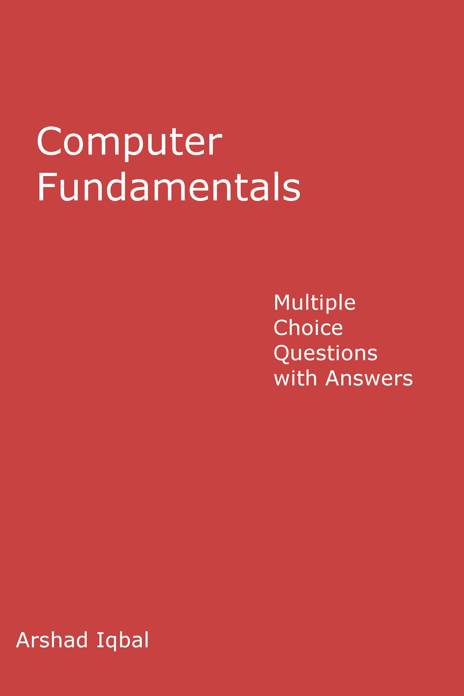 Computer Fundamentals Questions And Answers