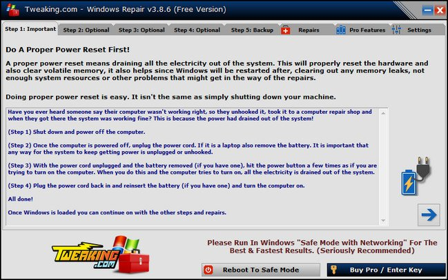 Windows Repair Free (All In One) 3.8.1 + Portable