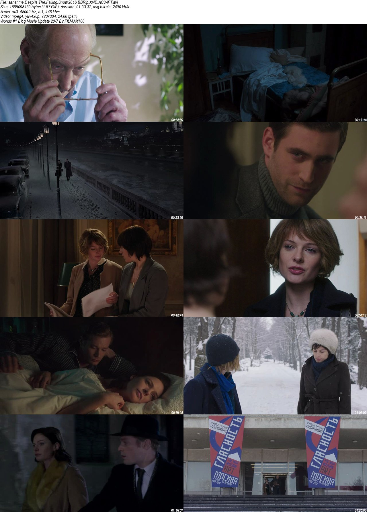Download Despite The Falling Snow 2016 BDRip XviD AC3-iFT