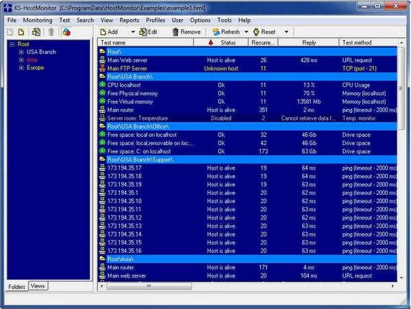 KS-Soft Advanced Host Monitor 10.70 Enterprise