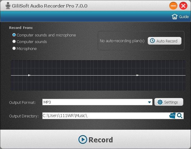 GiliSoft Audio Recorder Pro 7.3.0