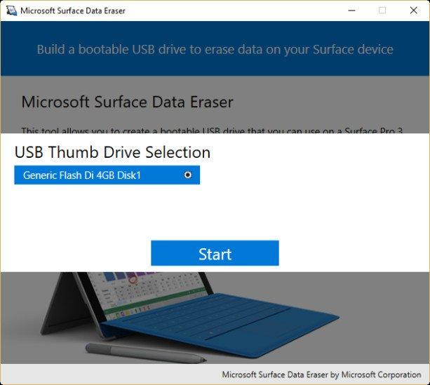 Microsoft Surface Data Eraser 3.2.36