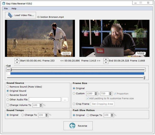 Easy Video Reverser 3.9.5